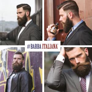 Línea de cosmética y belleza masculina Barba Italiana