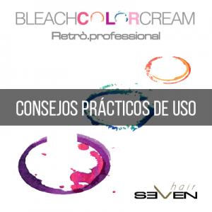 ¿Cómo se utiliza el Bleach Color Cream?