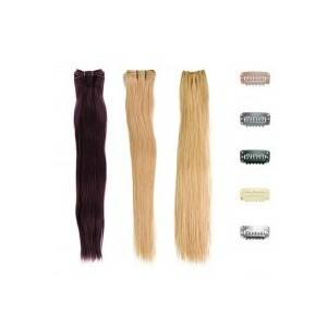 Extensiones cabello tejido clip